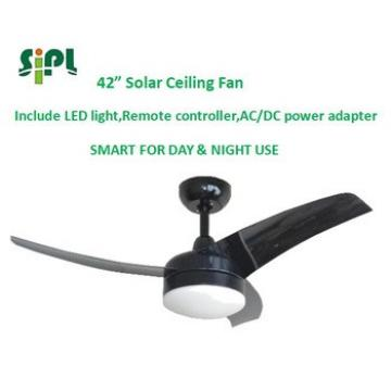 VENT KITS solar power 24v fast delivery decorative remote control ceiling fans with LED light industrial ceiling fan