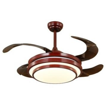 China high quality 13.6KG 10.5KG ceiling fan with hidden blades