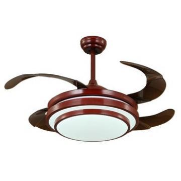 Hot sell modern design high quality hidden blades ceiling fans
