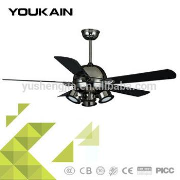 52 inch plastic blades LED lighting ceiling fan