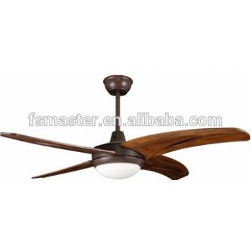 2017 Hot products vintage wooden fan home decorative ceiling fan with light