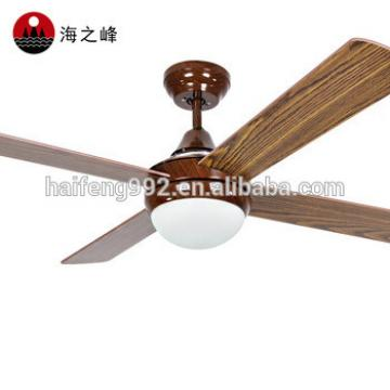 zhongshan electric remote control wooden fan blade ceiling fans with lights