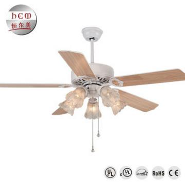 Most Attractive Elegant European Hvls Industrial Ceiling Fan With Led Lights