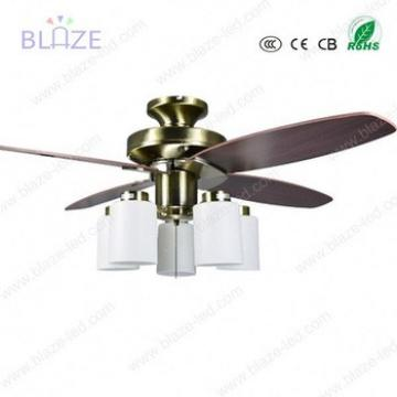 """Low power consumption 42"""" china national wooden blades industrial ceiling fan with led lights"""
