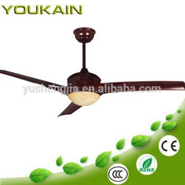 52 inch wooden-blades cooling fan with light