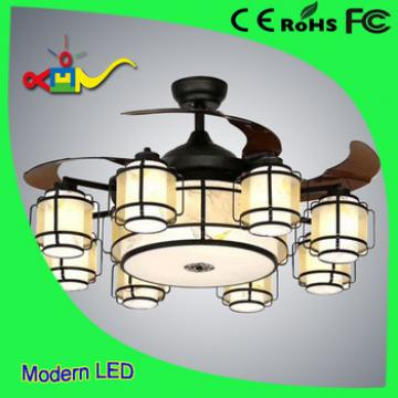 China style 42 inch CCT and speed adjustable remote controledl ceiling fan with light and remote