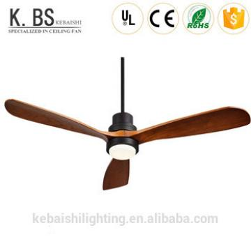High quality energy saving ceiling fan lamp 220v Remote control 52 inch decorative ceiling fan with light