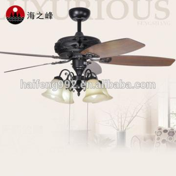 wooden cheap fan blade ceiling fans with lamps HF-670