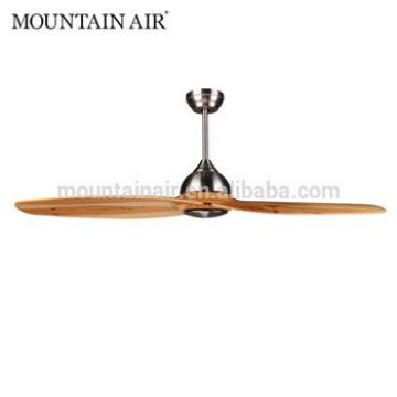 MOUNTAIN AIR Electrical DC motor natural wood 1 blade ceiling fan 55YFT-803
