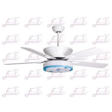 East Fan 52inch Five Blade Indoor Ceiling Fan with light item EF52110 white ceiling fans