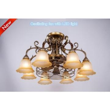 New style decorative lighting orbit ceiling fan
