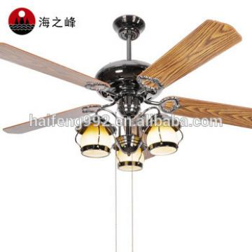 new product wooden fan blade bronze color fan blade ceiling fans