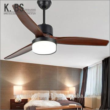Energy Saving 52 Inch Ac Dc Ceiling Fans Decorative Ceiling Fan With Light