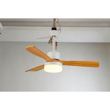 China gold supplier environmental real wood blade double ceiling fan