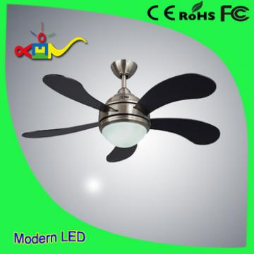 52 inch 4 speed remote controll modern ceiling fan with led light