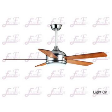 East Fan 52inch Five Blade Indoor Ceiling Fan with light item EF52101 Nickel ceiling fans