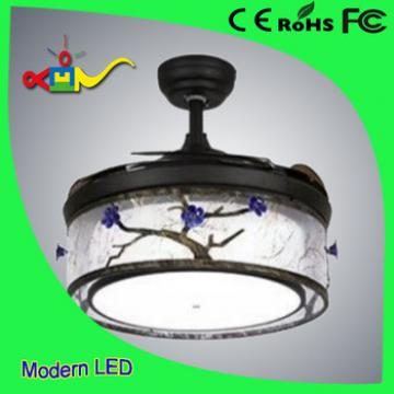 Mediterranean Style cheap price ceiling fan with lamp