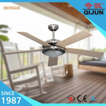 Personalized Woden Fan with MDF Decorate Ceiling Fan Blades for 52'' Chandelier Ceiling Fan Combo