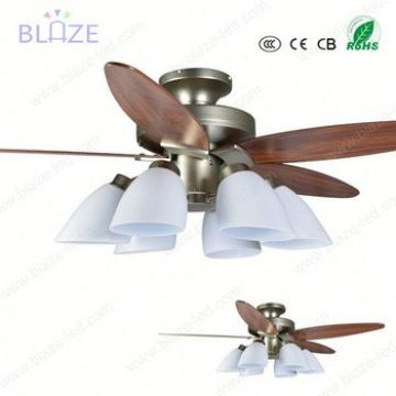 Wood blade remote control 220v home appliance ceiling fan