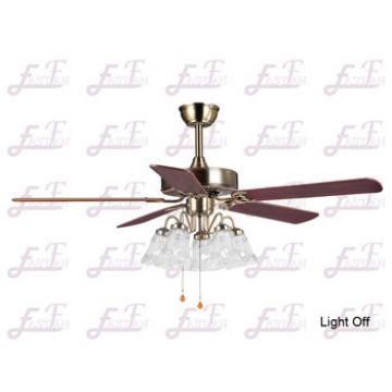 East Fan 52inch Five Blade Indoor Ceiling Fan with light item EF52506-2