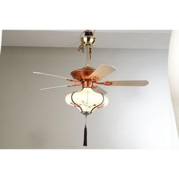 Cheap Supreme Quality wooden blade ceiling pendant fan lamp