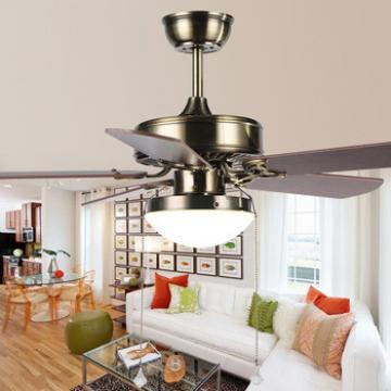 Wooden blades 42inch ceiling fan home decorative solar ceiling fan
