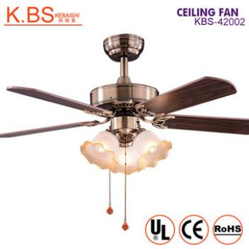 Decoration Home Winded Machine Ceiling Mounted Air Light Ceiling Fan With Light