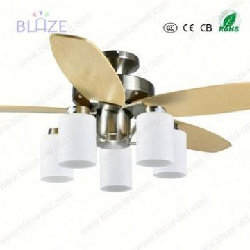 42 inch wooden blade 5 blades lighting ceiling fan light fixture