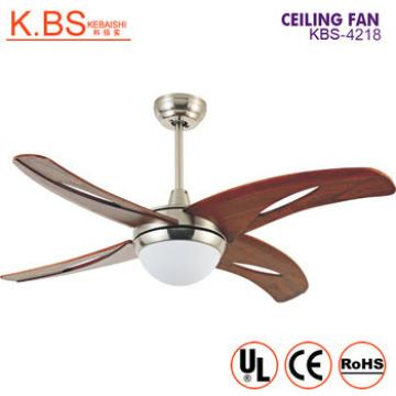 Modern Living Room Led Ceiling Fans Solid Wooden Ceiling Fan With LED Light