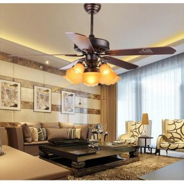 52 inch American village style ceiling fan with light indoor&out door use