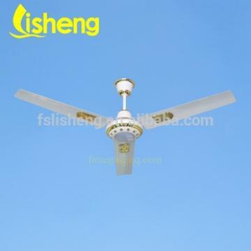 Solar beatiful DC 12V ceilling fan with LED lights LSC-DC56C3