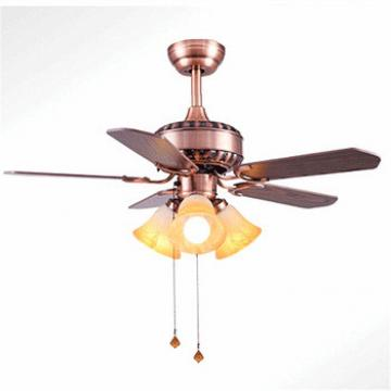 home lightings antique style ceiling fan glass lights pull hemp rop wood blades ceiling fan