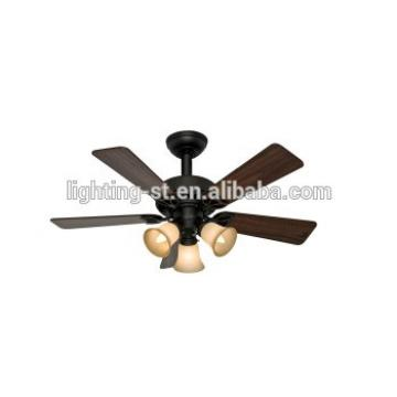 New Bronze Hunterr Beacon Hill 42-Inch Ceiling Fan with Five Walnut/Cherry Blades and Light Kit