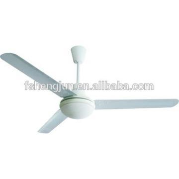 Qijun 48 56 inch decorative national ceiling fan with LED light bulb CE SASO to Iraq Saudi Arabia Dubai Argentina Mexico