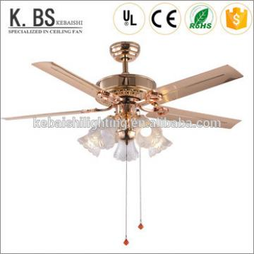 Best Selling Rope Control Hanging Light Weight Modern Pendant Light Ceiling Fan