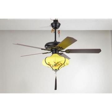 Hot new hotsell wooden blade led ceiling fan light
