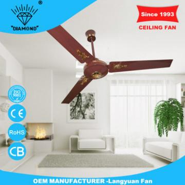 Best selling products 56 inch red remote control 220 volt ceiling fan with led light with low noise