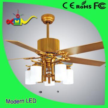 2017 modern lighting 52 inch 60w high quality 220v ceiling fan light