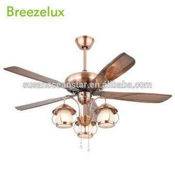 European Style Modern Decorative Pendant Light Zipper Control restaurant use Ceiling Fan Lamp