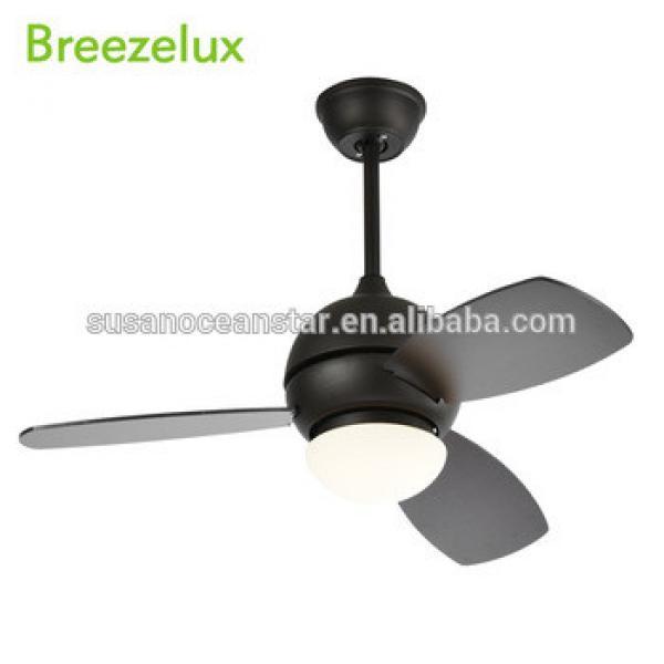 Wholesale dining room restaurant modern fan big hidden black ceiling fan