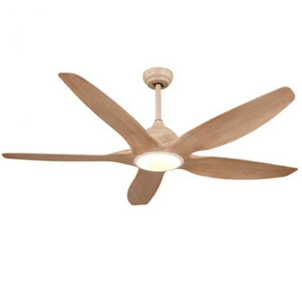 Modern design new arrival 62 / 52-F5051-WW decorative ceiling fan with light