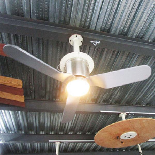 China high quality led ceiling fan lumen fans hidden blade light