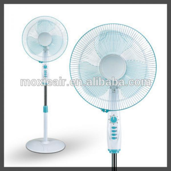"""40W 16"""" with lamp and 120 minute timer with round base stand fan in office and home"""