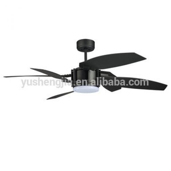 52inch energy saving plastic blade with LED light dc motor ceiling fan
