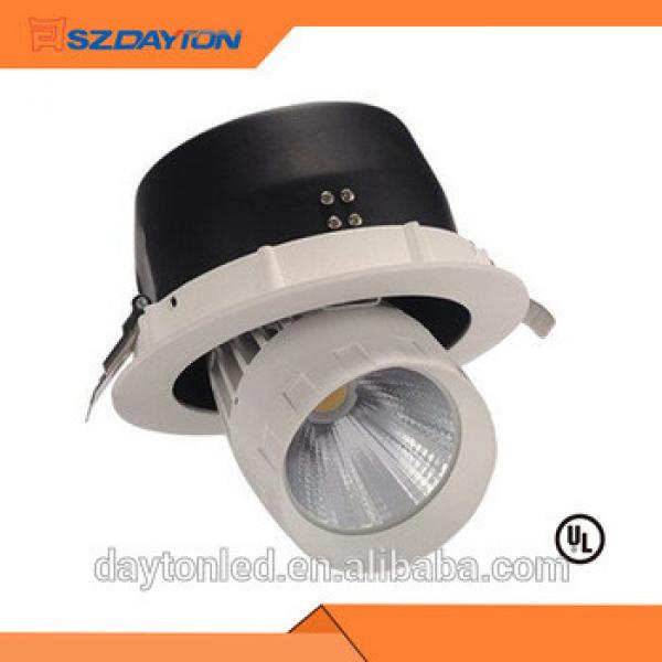 high-precision air fan led rotating light 40W