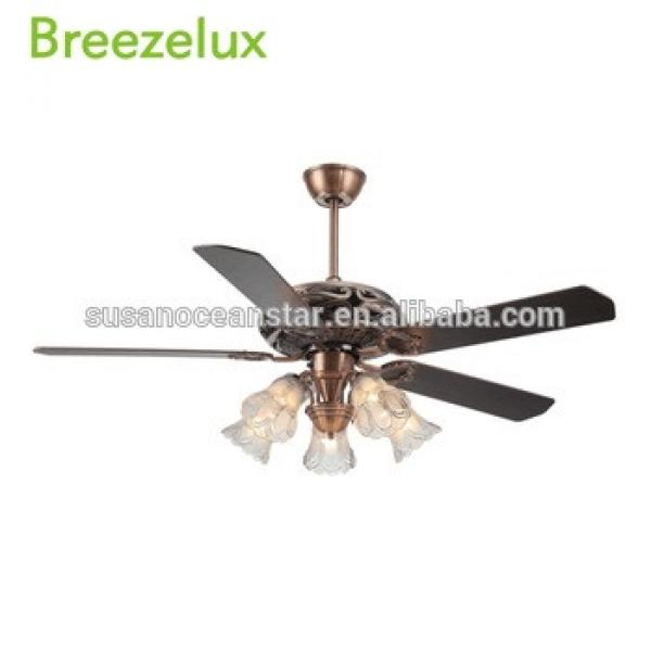 Top 10 Antique natural wooden blade home use ceiling fan Pendant Lights
