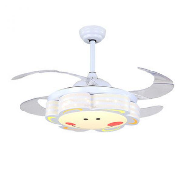 "Wholesale modern 5""""/12CM 10""""/25CM bottom price ceiling fan with hidden blades"