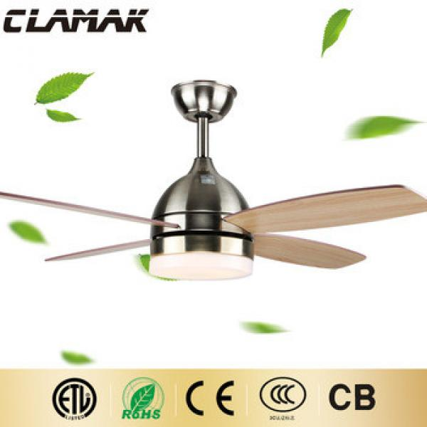 High frequency home appliance modern celing fan with light