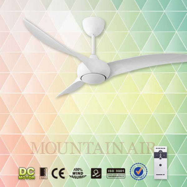 home appliances 52'' ceiling fan with remote control with LED light