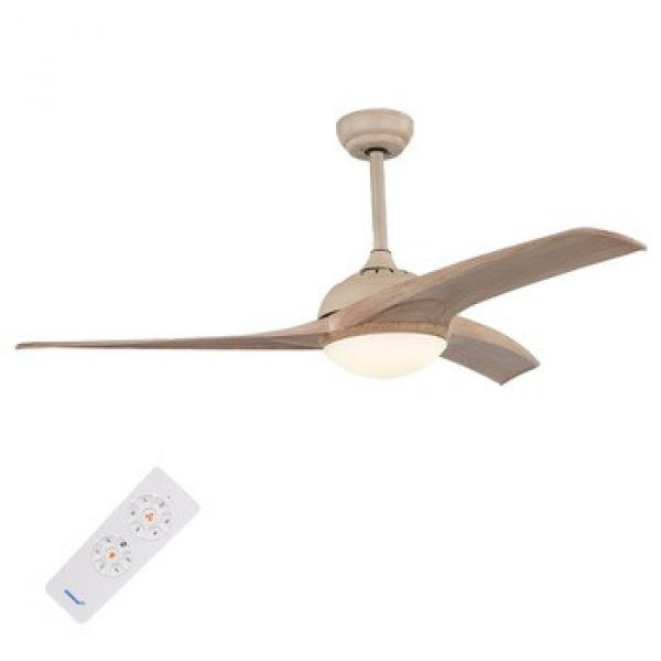 Promotional price 2017 popular design 3 blade ceiling fan with light